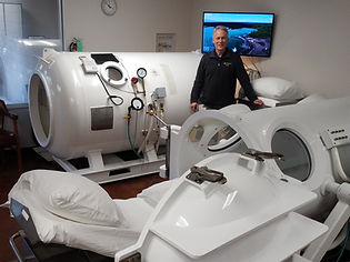 Hyperbaric Oxygen Therapy Chambers Dept.