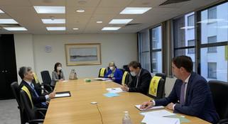 驻爱尔兰大使何向东会见爱农业部长