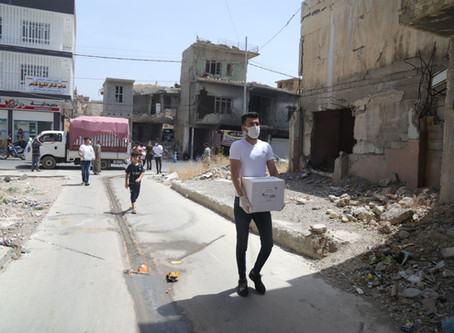 IBB Expands Stop the Spread Campaign to Include Masks, Food to War-torn Communities in Iraq