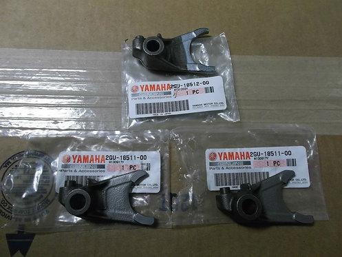 Genuine OEM Transmission Shift Forks (Set of 3) - Yamaha Banshee 350