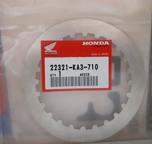 Genuine OEM Clutch Plate (Set of 6) - Honda 250R ATC