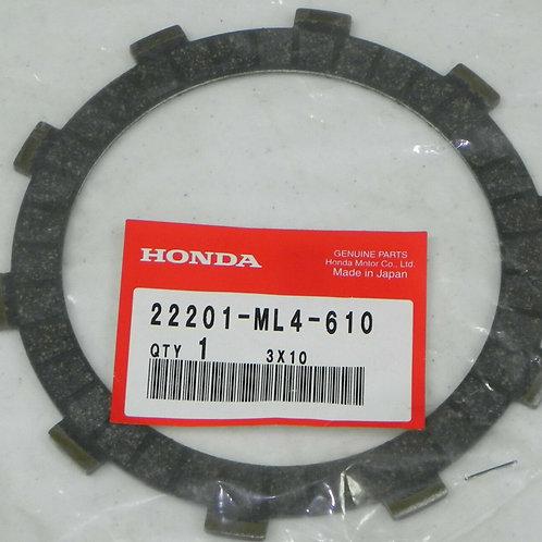Genuine OEM Clutch Friction Disk (Set of 5) - Honda Big Red 250 ES ATC
