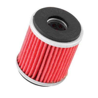 K&N High Performance Oil Filter (Pack of 6) for 2009-2020 Yamaha YFZ 450