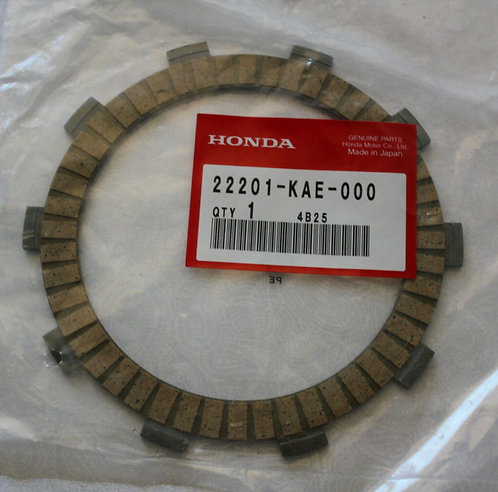 Genuine OEM Clutch Friction Plate (Set of 7) - Honda 250R ATC