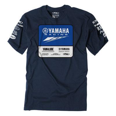 Factory Effex Yamaha Team Lockup T-Shirt - Navy