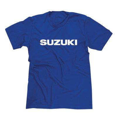 Suzuki Custom T-Shirt - Blue