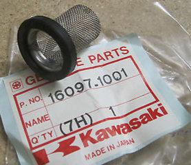 Genuine OEM Oil Strainer- Kawasaki KLT200 ATC