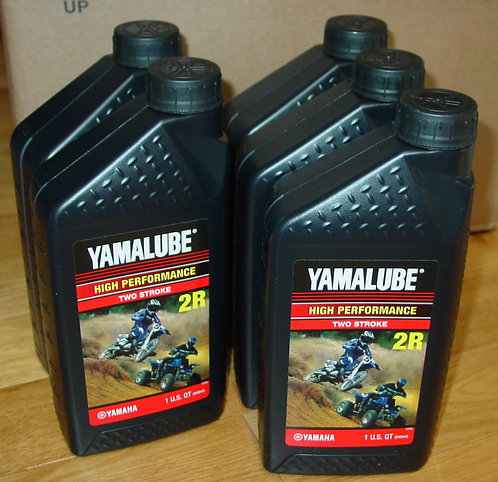 Yamalube 2-R High Performance 2 Stroke Oil, 32 oz, Case of 5