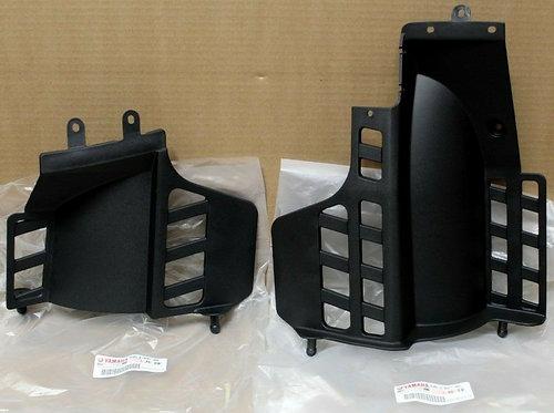 Genuine OEM Heel Guard Flaps Left & Right - Yamaha YFS Blaster 200