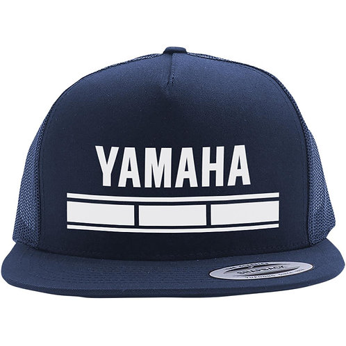 Yamaha Legend Factory Effex Snapback Hat - Navy