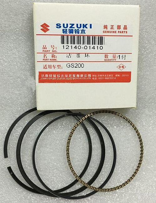 Genuine OEM Piston Ring Set - Suzuki ALT125 ATC
