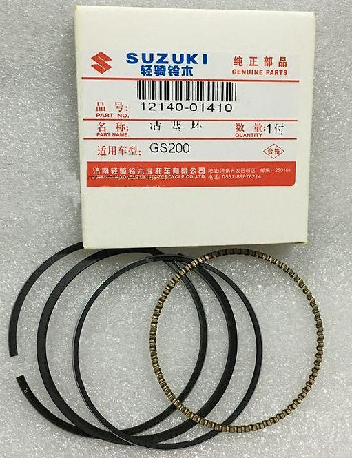 Genuine OEM Piston Ring Set - Suzuki ALT125 ATC