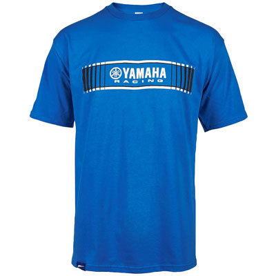Yamaha Tracks Speed Block T-Shirt - Blue