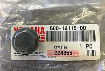 Genuine OEM Carburetor Screw Plug - Yamaha YT125G ATC