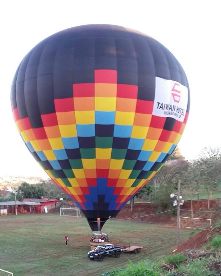 Balão de ar quente em ribeirão preto
