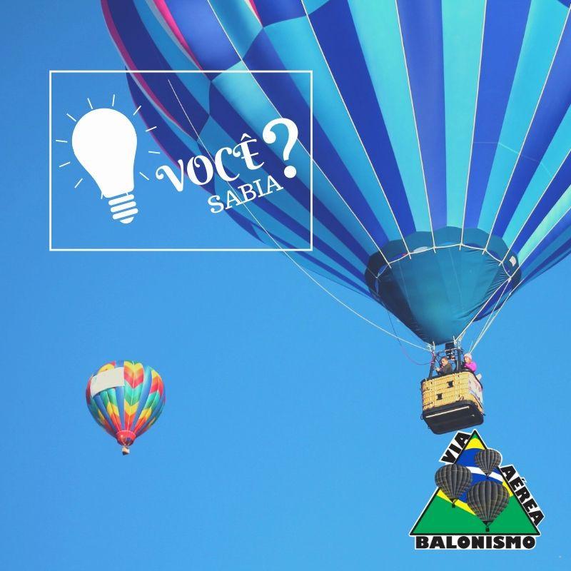 Historia sobre balão de ar quente