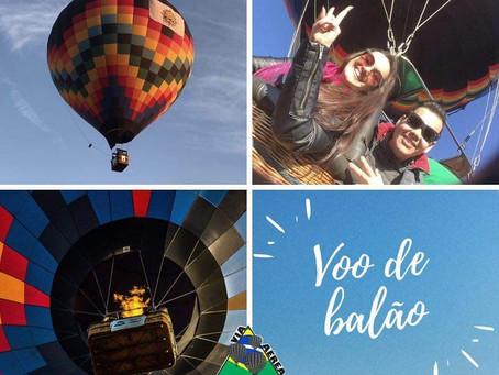 Voo de balão em Ribeirão Preto