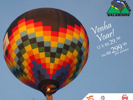 Quer saber os valores para voar de balão ?