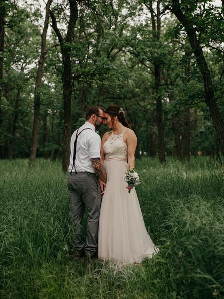 Backyard Wedding in Headingley, Manitoba