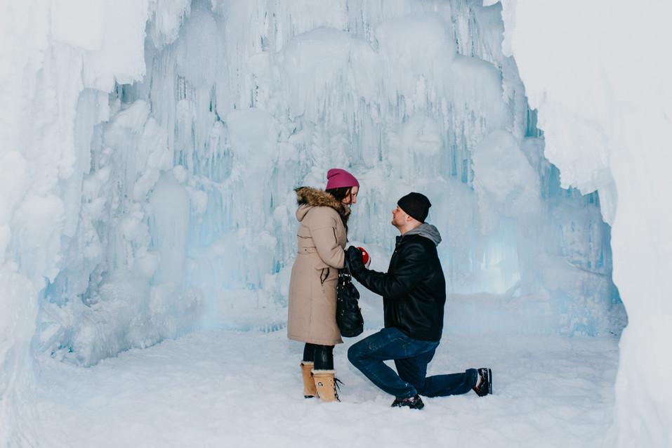 Surprise marriage proposal