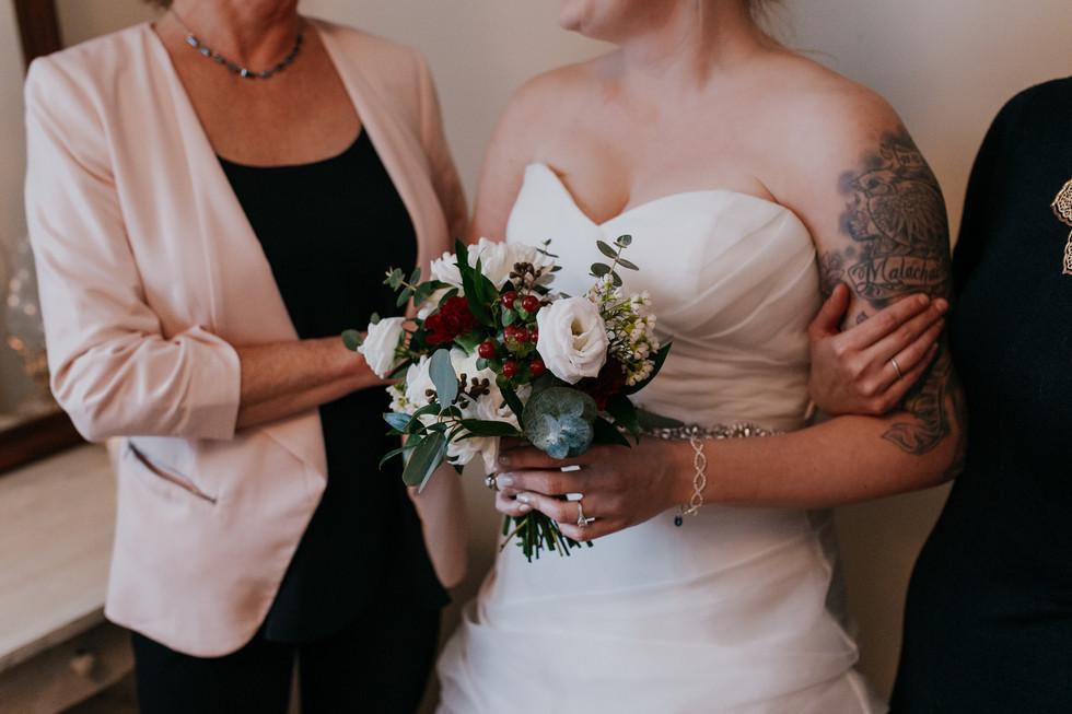 Winnipeg winter wedding