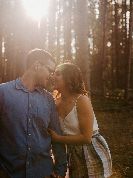 Summer Engagement Session and Birds Hill Park