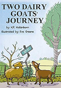 Two Dairy Goats' Journey