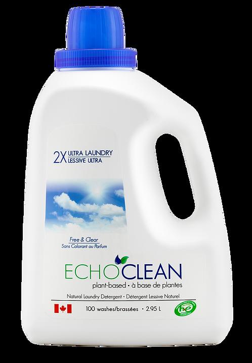 Unscented Liquid Laundry Detergent (2.95 L)