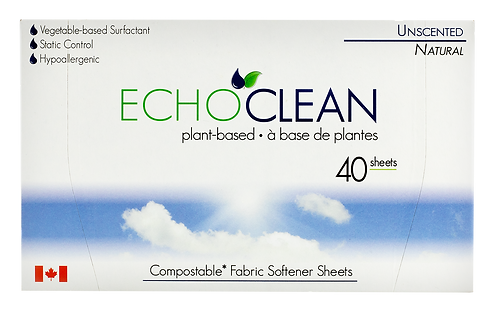 Unscented Fabric Softener Sheets