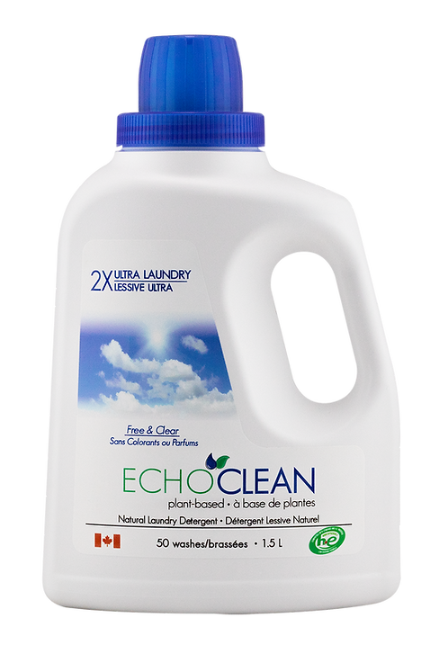 Unscented Liquid Laundry Detergent (1.5 L)