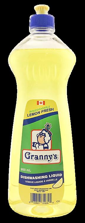 Lemon Fresh Dishwashing Liquid