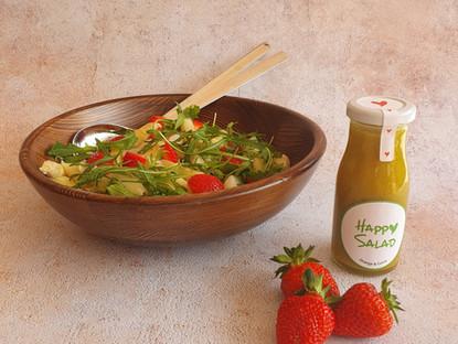 Last Minute Rezept - Spargel - Erdbeere - Rucola