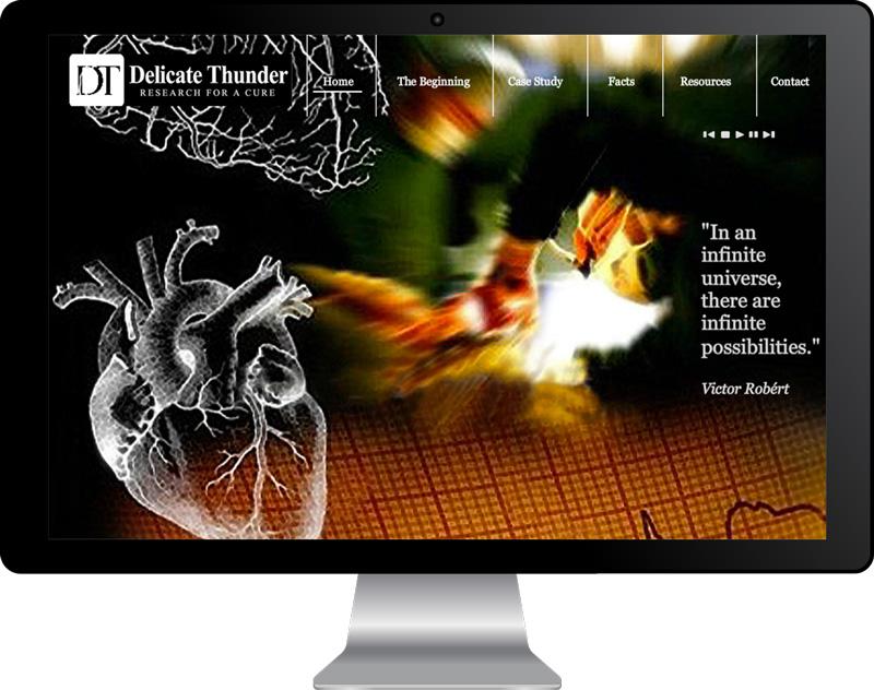 Delicate Thunder Website