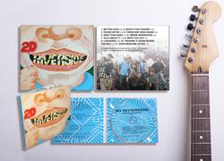 20 Riverside music cover & CD imprint