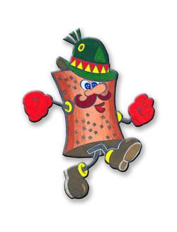Mr. Pretzel Nut Man