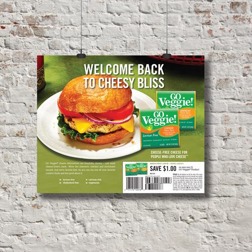 GO Veggie! National Retailer Ads