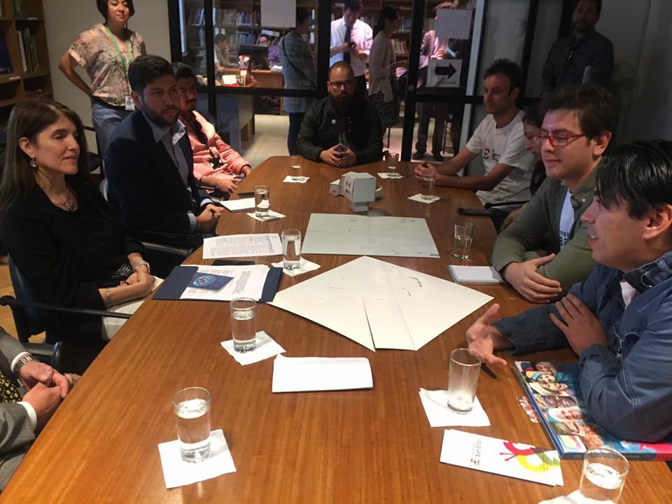 Reunión Ministra Narváez