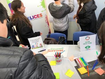 Felices en colegios - Enseñando los Objetivos de Desarrollo Sostenible.