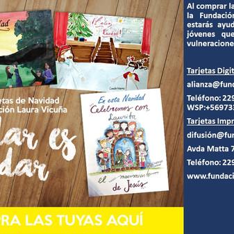 En estas fiestas, rescatemos el valor de las tarjetas de Navidad!