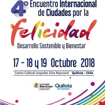 #Felices se une al 4to Encuentro Internacional de Ciudades por la Felicidad.