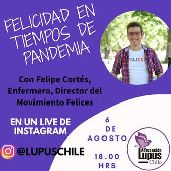 Compartiendo felicidad con la Comunidad Lupus Chile.