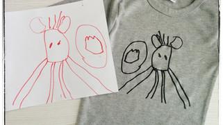 העברת ציור לחולצה   - HTV