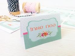 קובץ חינמי להדפסה - כרטיסי הושבה לשולחן הסדר