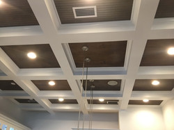 Stringer Box Coffered Ceiling Example