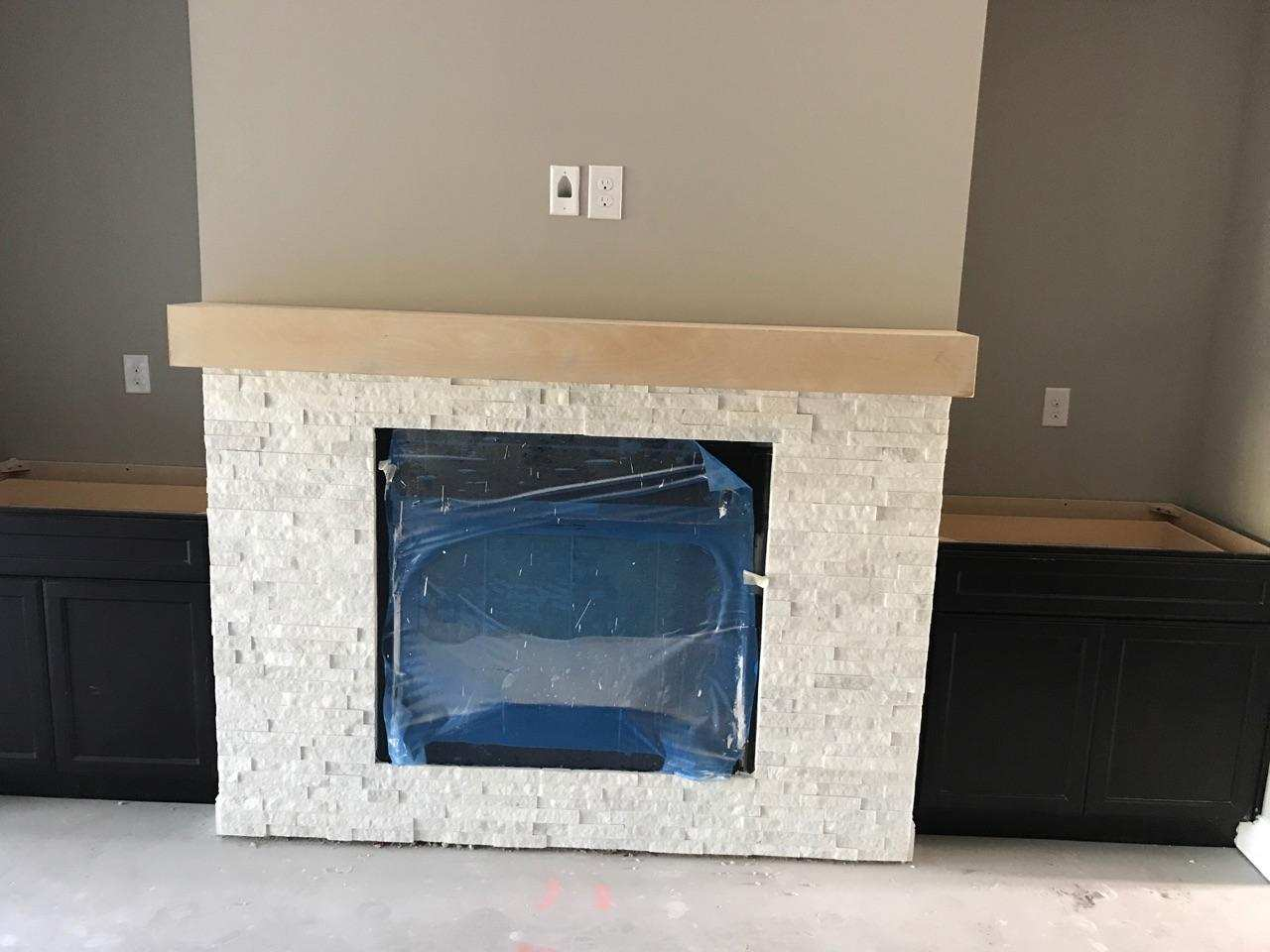 Mantel over Tiles