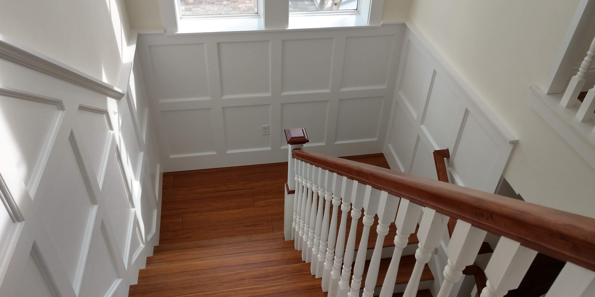 board and batton staircase