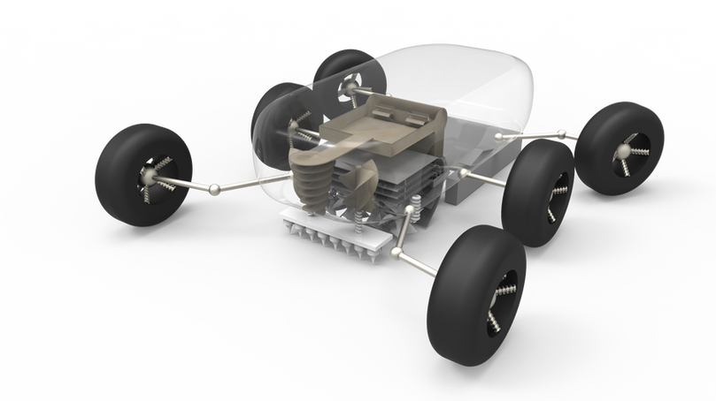 MARS WALL-BUILDING ROBOT
