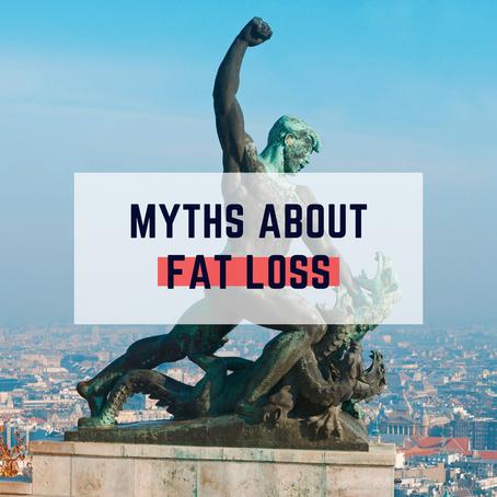 Top 3 Fat Loss Myths
