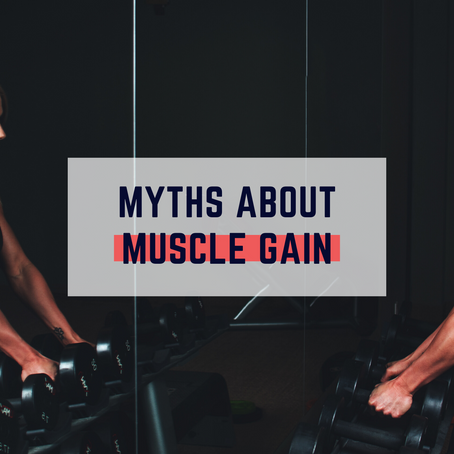 Top 3 Muscle Building Myths