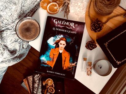 Galénor, tome 2 - le dernier gémini de Audrey Verreault